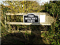 TM1783 : The Beeches Farm sign by Geographer