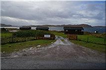 NB9812 : Port Beag Chalets, Altandhu by Ian S
