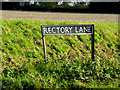 TM1782 : Rectory Lane sign by Adrian Cable