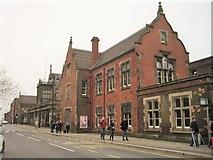 SJ8745 : Stoke-on-Trent railway station, Staffordshire by Nigel Thompson