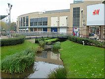 TL0506 : River Gade, Hemel Hempstead by Robin Webster