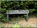 TM1982 : Pulham Road sign by Adrian Cable