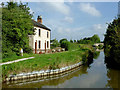 SJ8357 : Ex-pub and ex-bridge near Kent Green, Cheshire by Roger  Kidd
