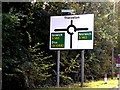 TM1681 : Roadsign on Ipswich Road by Adrian Cable