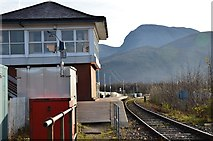 NN1176 : Ben Nevis from Banavie Station by Jim Barton