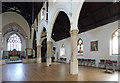 TQ3085 : St Luke, West Holloway - South arcade by John Salmon