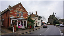 TG0738 : High Street, Holt by Peter Barr