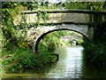 SJ8459 : Deakins Bridge near Ackers Crossing, Cheshire by Roger  Kidd