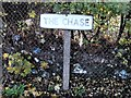 TQ7966 : Vintage street nameplate, The Chase, Twydall by Chris Whippet
