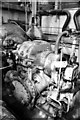 SJ3289 : Wallasey Dock Impounding station - steam turbine by Chris Allen