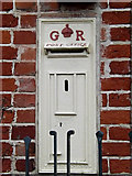 TM1678 : Former George V Postbox at the Old Post Office by Geographer