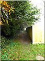 TM3555 : Footpath to the B1078 Ash Road by Adrian Cable