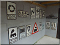 SP1620 : Pre-Worboys road signs, Cotswold Motoring Museum, Bourton-on-the-Water by Robin Stott