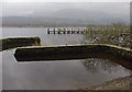 SD3195 : Brantwood jetty, Coniston Water by Ian Taylor
