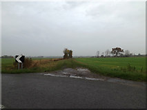 TM3071 : Field entrance off the B1117 Rowes's Hill by Adrian Cable