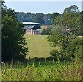 SP6594 : A glimpse of Wistow Grange by Mat Fascione