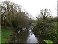 TM1478 : River Waveney off Scole Bridge by Geographer