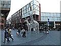 SJ3490 : Reindeers in Liverpool 1 by Richard Hoare