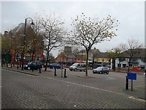 SK3950 : Market Square in Ripley by Jonathan Clitheroe