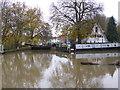 SP0443 : Evesham Lock by Chris Allen