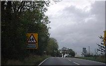 TM1169 : A140 near Stoke Ash School by N Chadwick
