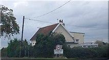 TM1169 : Stoke Ash, A140 by N Chadwick
