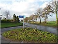 SE6323 : Junction for walkers on TPT NCN62 near Carlton N Yorks by Steve  Fareham