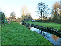 SU6168 : Ufton Bridge and former lock by Robin Webster
