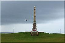 NX1897 : War Memorial, Stair Park Girvan by Billy McCrorie
