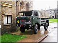 TL1998 : Land Rover military vehicle at Peterborough Cathedral by Paul Bryan
