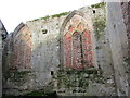 TA0760 : Church of St. Martin, Chancel North Wall interior by Jonathan Thacker