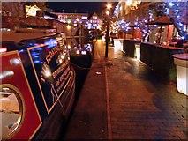 SP0686 : Birmingham city centre canal by Steve  Fareham