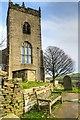SJ9888 : Fifteenth Century Tower at St Thomas' Church by David Dixon