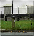 TM2185 : The Street sign by Adrian Cable