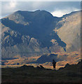 NY2006 : Scafell from Grey Friar by Karl and Ali