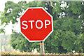 "J4470 : ""Stop"" sign, Comber (November 2014) by Albert Bridge"