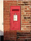 SK6889 : Mattersey P.O. Main Street Mattersey postbox, ref DN10 90 by Alan Murray-Rust
