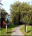 SU4829 : Watervole Trail to Winnall Moors, Winchester by Jaggery