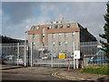 NJ9407 : Police vehicle depot, Nelson Street, Aberdeen by Bill Harrison