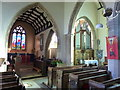 ST6990 : St Andrew's church, Cromhall - interior by Ruth Sharville