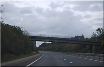 TM1579 : Bridge over the A140 by N Chadwick