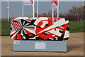 TQ3784 : Bus Art,'Dazzler' by Oast House Archive