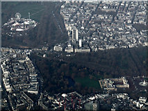 TQ2879 : Buckingham Palace from the air by Thomas Nugent