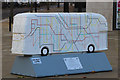 TQ3885 : Bus Art, 'Journey to Anywhere' by Oast House Archive