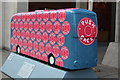 TQ3281 : Bus Art, 'Push Once' by Oast House Archive