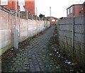 SJ9593 : Footpath to Dowson Road by Gerald England