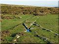 SX7677 : Haytor granite railway by Alan Hunt