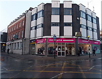 SO8318 : CLIC Sargent charity shop in Gloucester city centre by Jaggery