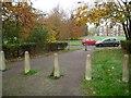 TL2612 : Welwyn Garden City: Cycleway in Panshanger (1) by Nigel Cox