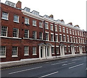 SO8454 : Bridge Street houses, Worcester by Jaggery